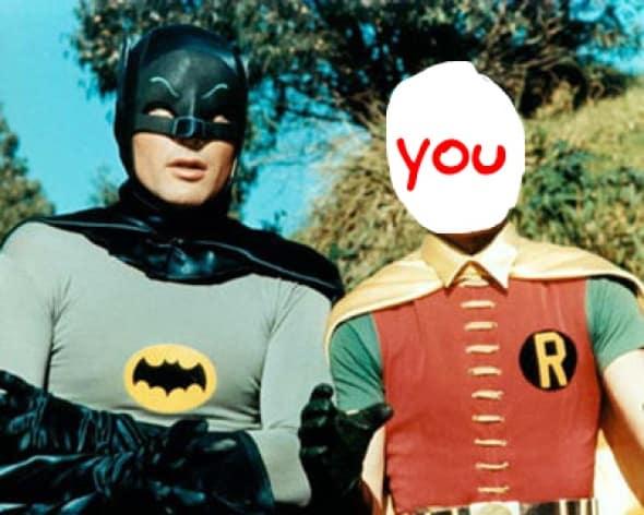 Batman Intern Domain Magazine