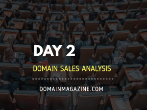 domain sales analysis